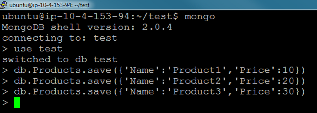 installer mongodb node js windows installer